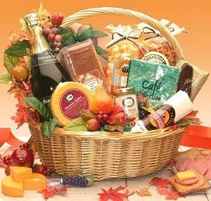 gourmet thanksgiving gift basket wallpaper