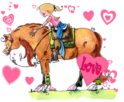 Valentine Wishes on Horse Valentine Cards  Printable Horse Card For Valentines Day