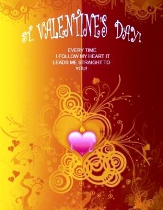 quotes on valentine. Valentines Day Quotes Cards, Valentines Day Love Quote Card