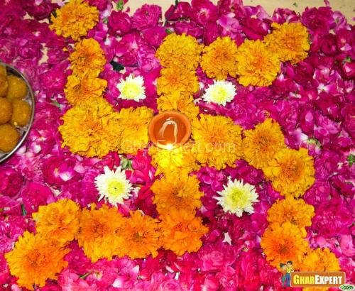 Diwali Cards Deepawali Flower Wishes Diwali Flower