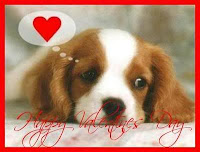 Puppy Card for Valentines Day