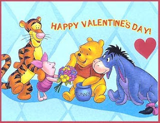 Winnie The Pooh Valentines Day Cards