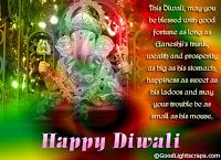 Diwali Lord Ganesh Cards