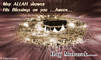 Hajj mubarak greetings