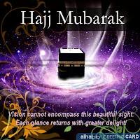 Hajj Mubarak Cards