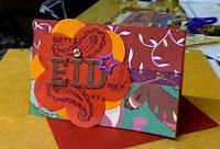 Handmade Eid Greeting Cards