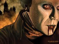 Dracula Desktop Wallpaper