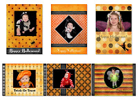 Baby Halloween Cards