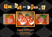 Baby Photo Halloween Cards
