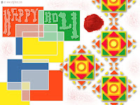 2010 holi greeting cards