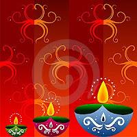 Elegant Diwali Cards