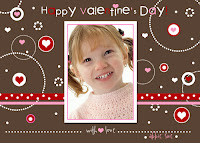 valentine photo picture card