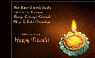free diwali business ecards