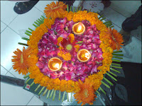 diwali flower decoration wallpaper