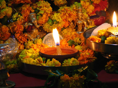 Diwali Puja Celebrations
