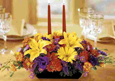 Flowers for Thanksgiving Day