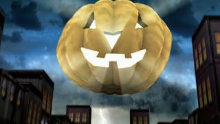 Funny Pumpkin Halloween Wallpaper