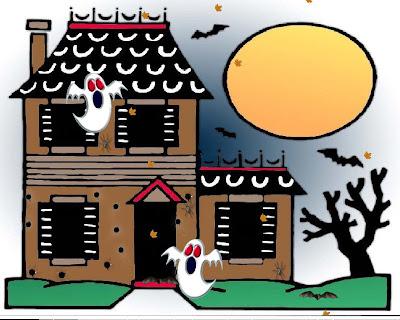 Halloween Bats Card