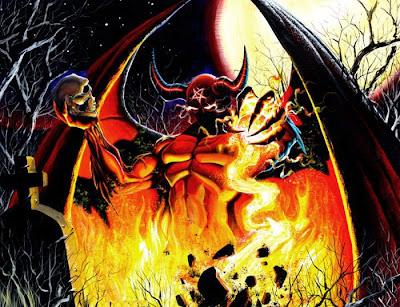 Free Demon Halloween Wallpaper