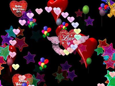Animated Happy Valentine Card