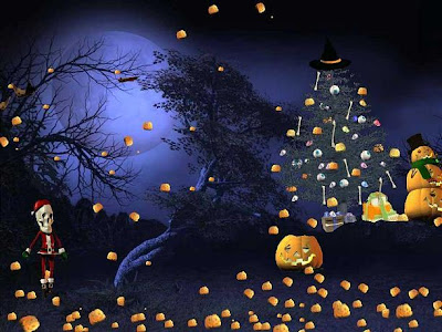 Halloween Christmas Cards