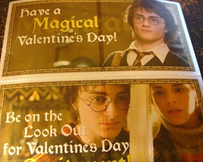 Harry Potter Valentine's Day Cards