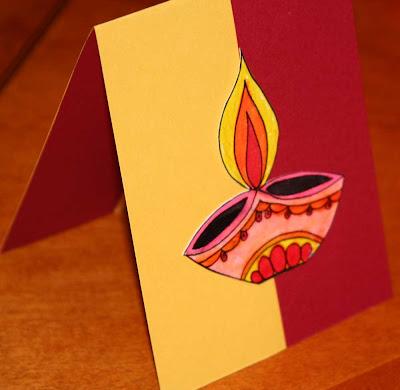 Diwali Festival Cards