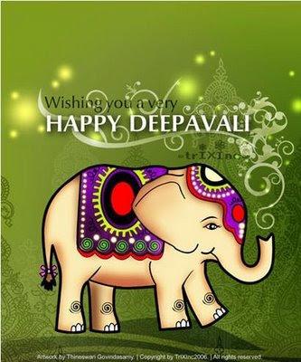 Diwali Cards: April 2009