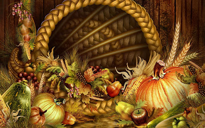 free Bountiful Thanksgiving Wallpapers