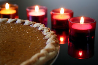 Thanksgiving Pumpkin Pie Greeting Cards