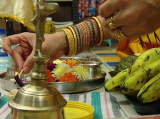 Diwali Lakshmi Puja Card