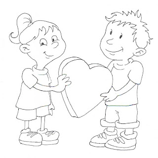 Valentines  Heart Coloring Pages on Free Valentine S Day Coloring Pages For Kids  Printable Heart