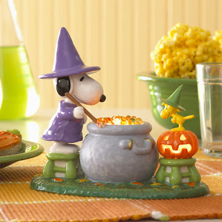 Snoopy Cartoon Halloween Wallpaper