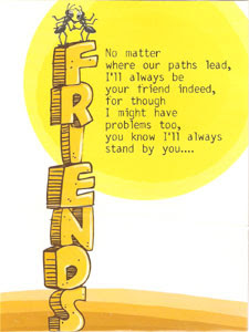 Precious Friendship Cards