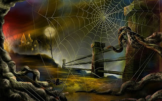 Animated Spider Web Wallpapers