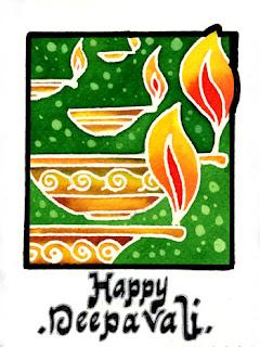 Happy Deepavali Cards