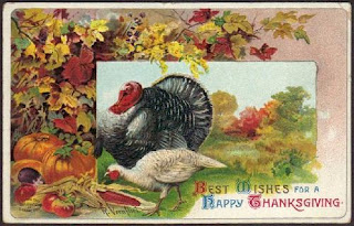 Antique Happy Thanksgiving Postcard