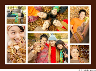 Personalize Photo Thanksgiving Card