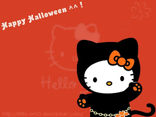 Hello Kitty and Halloween Wallpapers