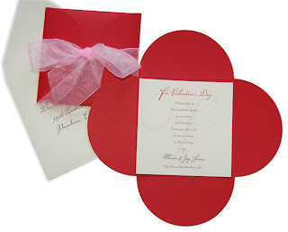 Valentines Day Party Invitation Card