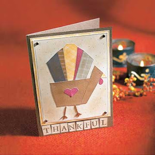 Homemade Thanksgiving Cards for Kids