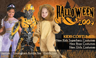 halloween kids 2009 card