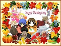 thanksgiving anime cartoons