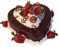 Romantic Cake Greetings