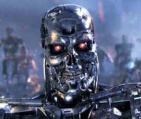 scary terminator robot wallpaper