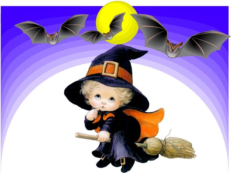 Halloween Wallpapers: Cute Halloween Witch Wallpapers ...