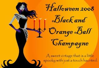 Orange Halloween Cards