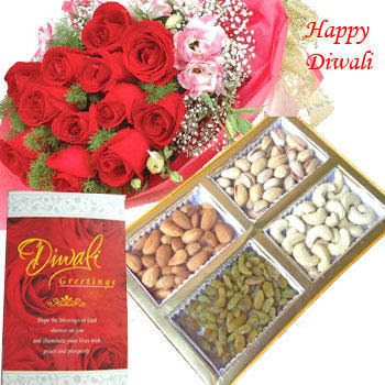Diwali Rose Cards