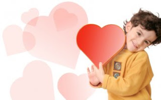 child valentine photo card