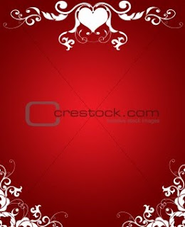 red greeting cards for valentine